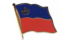 Spilla Bandiera Liechtenstein - 2 x 2 cm