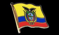 Spilla Bandiera Ecuador - 2 x 2 cm