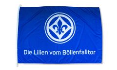 Bandiera SV Darmstadt 98 Die Lilien vom Böllenfalltor - 100 x 150 cm