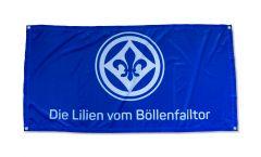 Bandiera SV Darmstadt 98 Die Lilien vom Böllenfalltor - 70 x 140 cm