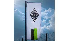 Bandiera Borussia Mönchengladbach Streifen - 400 x 150 cm