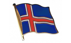 Spilla Bandiera Islanda - 2 x 2 cm