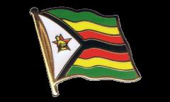 Spilla Bandiera Zimbabwe - 2 x 2 cm