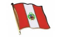 Spilla Bandiera Perù - 2 x 2 cm