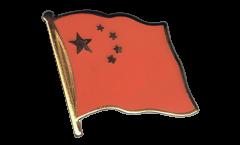 Spilla Bandiera Cina - 2 x 2 cm