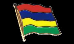 Spilla Bandiera Mauritius - 2 x 2 cm