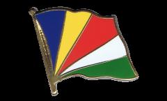 Spilla Bandiera Seychelles - 2 x 2 cm