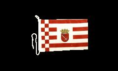 Bandiera da barca Germania Brema - 30 x 40 cm