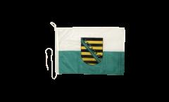 Bandiera da barca Germania Sassonia - 30 x 40 cm