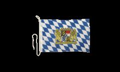 Bandiera da barca Germania Baviera con leone - 30 x 40 cm