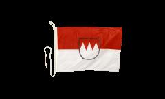 Bandiera da barca Germania Franconia - 30 x 40 cm