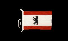 Bandiera da barca Germania Berlino - 30 x 40 cm