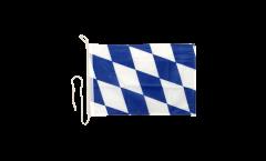 Bandiera da barca Germania Baviera senza stemmi - 30 x 40 cm