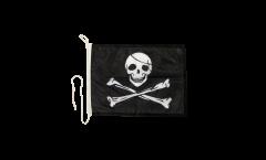 Bandiera da barca Pirata - 30 x 40 cm