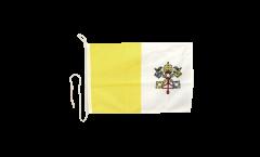 Bandiera da barca Vaticano - 30 x 40 cm