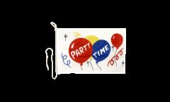Bandiera da barca Party Time - 30 x 40 cm