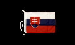 Bandiera da barca Slovacchia - 30 x 40 cm