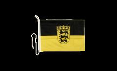 Bandiera da barca Germania Baden-Württemberg - 30 x 40 cm