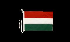 Bandiera da barca Ungheria - 30 x 40 cm