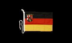 Bandiera da barca Germania Renania Palatinato - 30 x 40 cm
