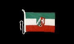 Bandiera da barca Germania Renania Settentrionale-Vestfalia - 30 x 40 cm