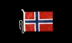 Bandiera da barca Norvegia - 30 x 40 cm