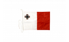 Bandiera da barca Malta - 30 x 40 cm