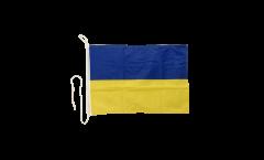 Bandiera da barca Ucraina - 30 x 40 cm