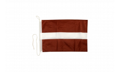 Bandiera da barca Lettonia - 30 x 40 cm