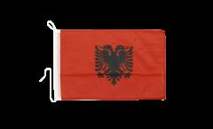 Bandiera da barca Albania - 30 x 40 cm