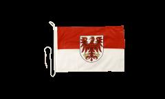 Bandiera da barca Germania Brandeburgo - 30 x 40 cm