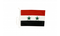 Bandiera da barca Siria - 30 x 40 cm