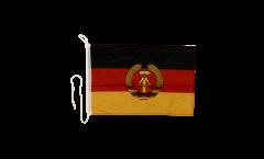 Bandiera da barca Germania dell'Est - 30 x 40 cm