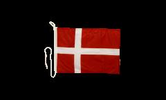 Bandiera da barca Danimarca - 30 x 40 cm