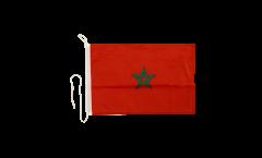 Bandiera da barca Marocco - 30 x 40 cm
