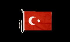 Bandiera da barca Turchia - 30 x 40 cm