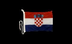 Bandiera da barca Croazia - 30 x 40 cm