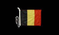 Bandiera da barca Belgio - 30 x 40 cm