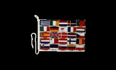 Bandiera da barca EU 25 paesi - 30 x 40 cm