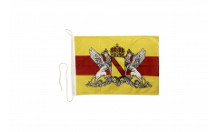 Bandiera da barca Germania Ducato di Baden - 30 x 40 cm