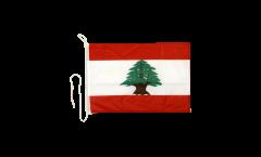 Bandiera da barca Libano - 30 x 40 cm