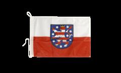 Bandiera da barca Germania Turingia - 30 x 40 cm