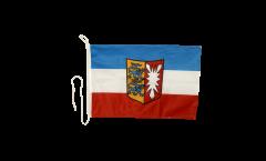 Bandiera da barca Germania Schleswig-Holstein - 30 x 40 cm