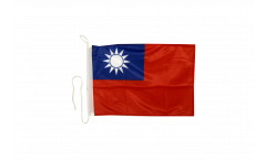 Bandiera da barca Taiwan - 30 x 40 cm