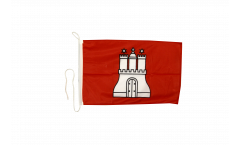 Bandiera da barca Germania Amburgo - 30 x 40 cm