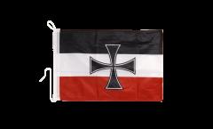 Bandiera da barca Germania Gösch-Naval Jack 1871-1919 - 30 x 40 cm