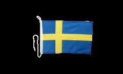 Bandiera da barca Svezia - 30 x 40 cm