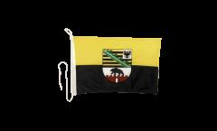 Bandiera da barca Germania Sassonia-Anhalt - 30 x 40 cm