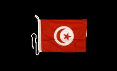 Bandiera da barca Tunisia - 30 x 40 cm