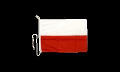 Bandiera da barca Polonia - 30 x 40 cm